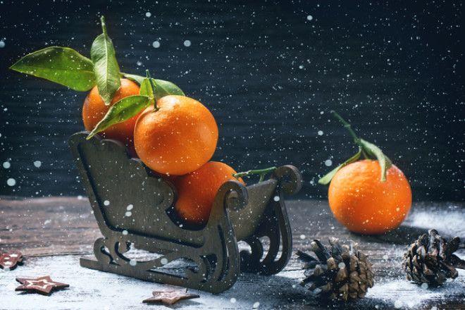 ...и руки пахнут мандаринами!