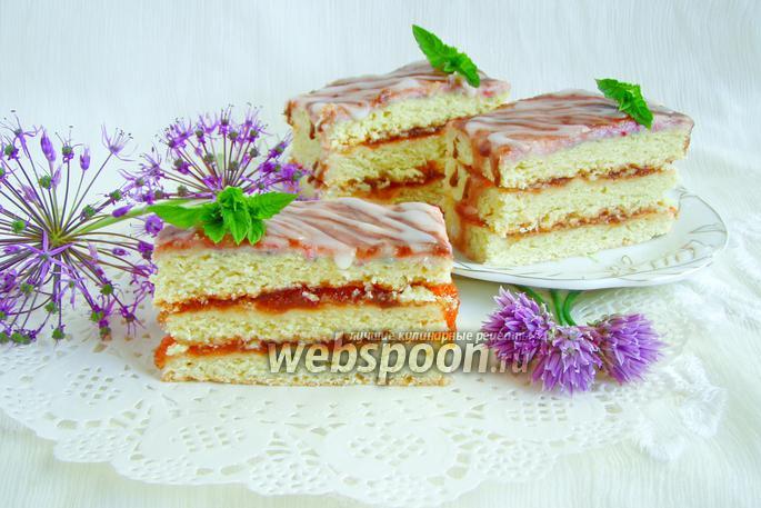 Пирожное «Полоски»