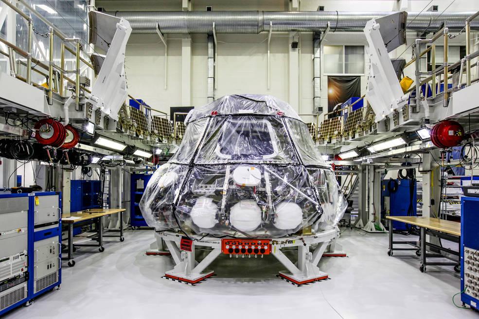 В США успешно испытали космический корабль для путешествия на Луну и Марс