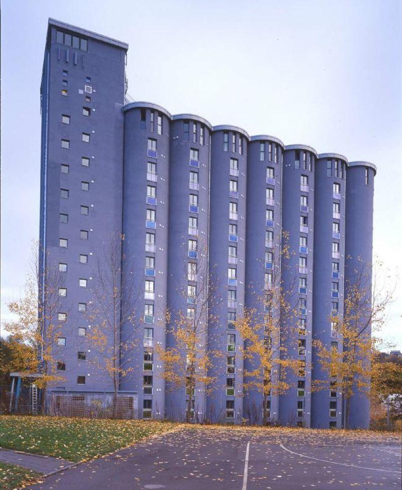 В Осло старый зерновой элеватор перестроили в общежитие