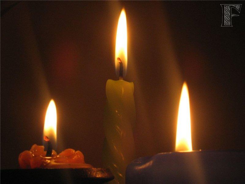"""""""Три свечи"""""""