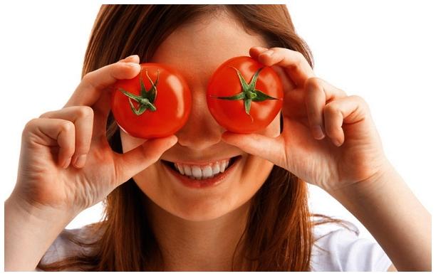 Положите помидор на лицо и ж…
