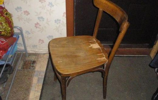 Никогда не думала, что такое можно сделать из старого бабушкиного стула. Фантастика!