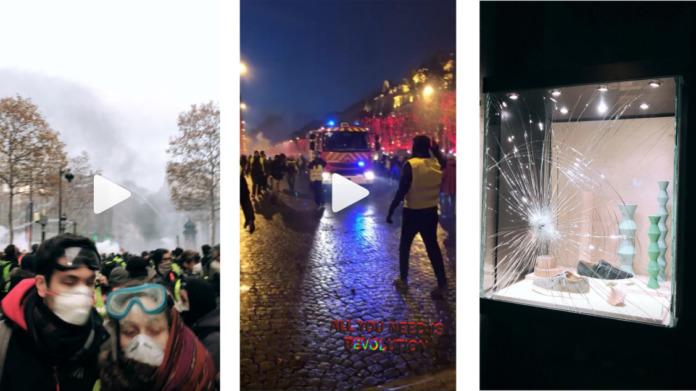 Дочь Пескова выложила в соцсети фото французских протестов