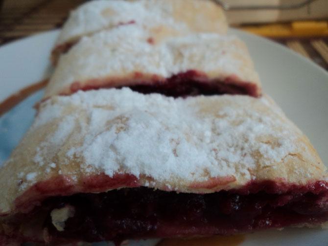 """""""Ленивый"""" штрудель - замечательный десерт  без хлопот"""