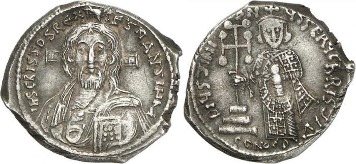 Безносый император Юстиниан II.