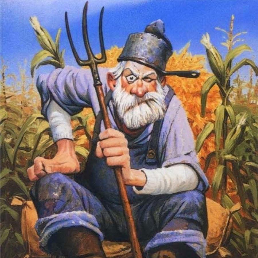 Дед на даче, ночью просыпается — смотрит а у него воры картошку тырят — весь урожай! — Он звонит в милицию...