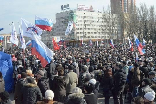Непокорённый Донбасс воссоединится с Россией менее чем через год