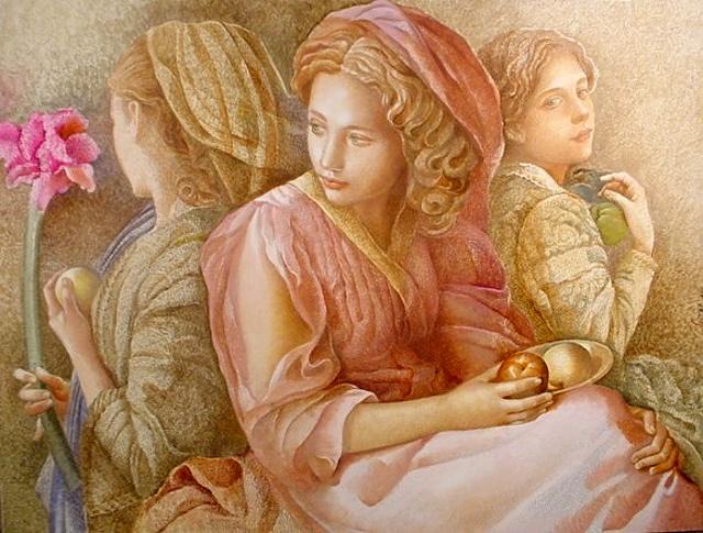 Работы белорусского художника Юрия Яроша