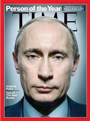 """""""Секретный план Путина"""": Президент России снова на обложке Time"""