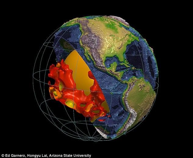 В мантии Земли обнаружили ог…