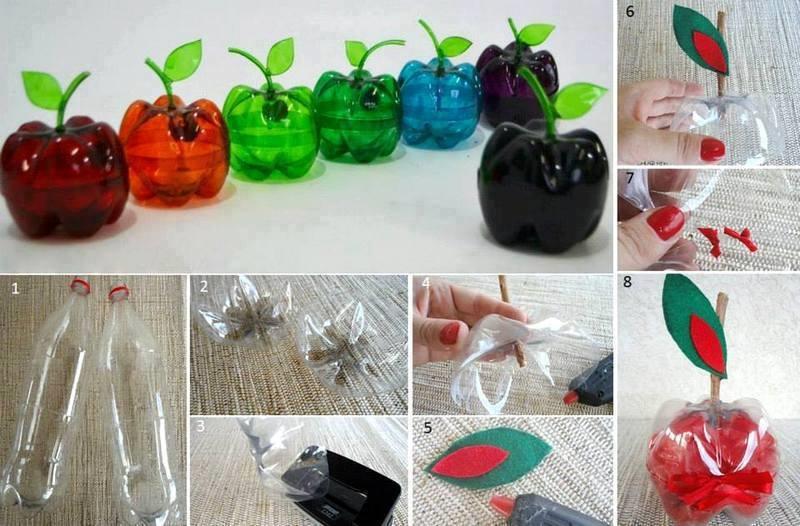 пластиковые бутылки поделки