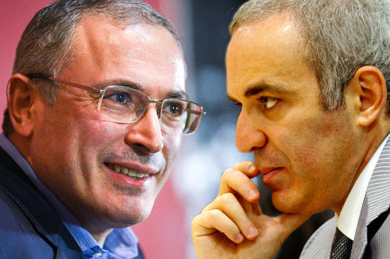 """Каспаров """"подрался"""" с Ходорковским за Путина и Крым"""
