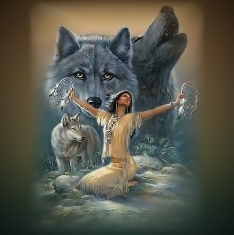 С волками можно только быть на равных. Carol Cavalaris