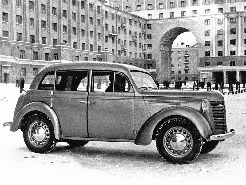 Малолитражные автомобили в СССР. 50-е годы.