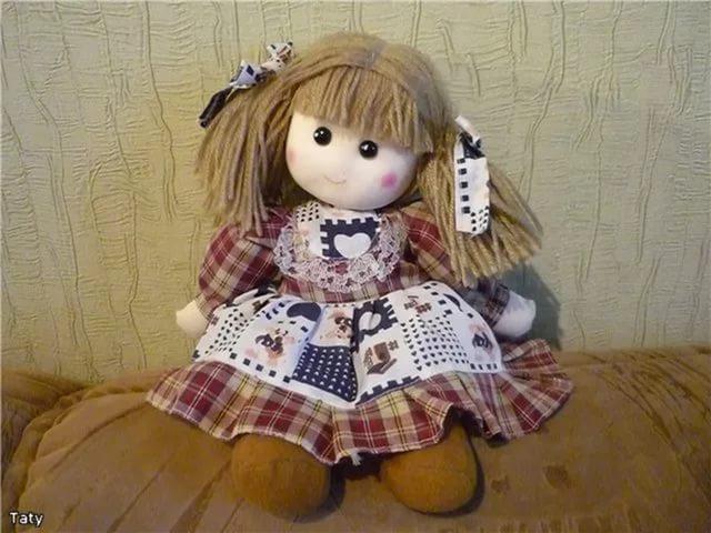 Как сделать куклы тряпичные