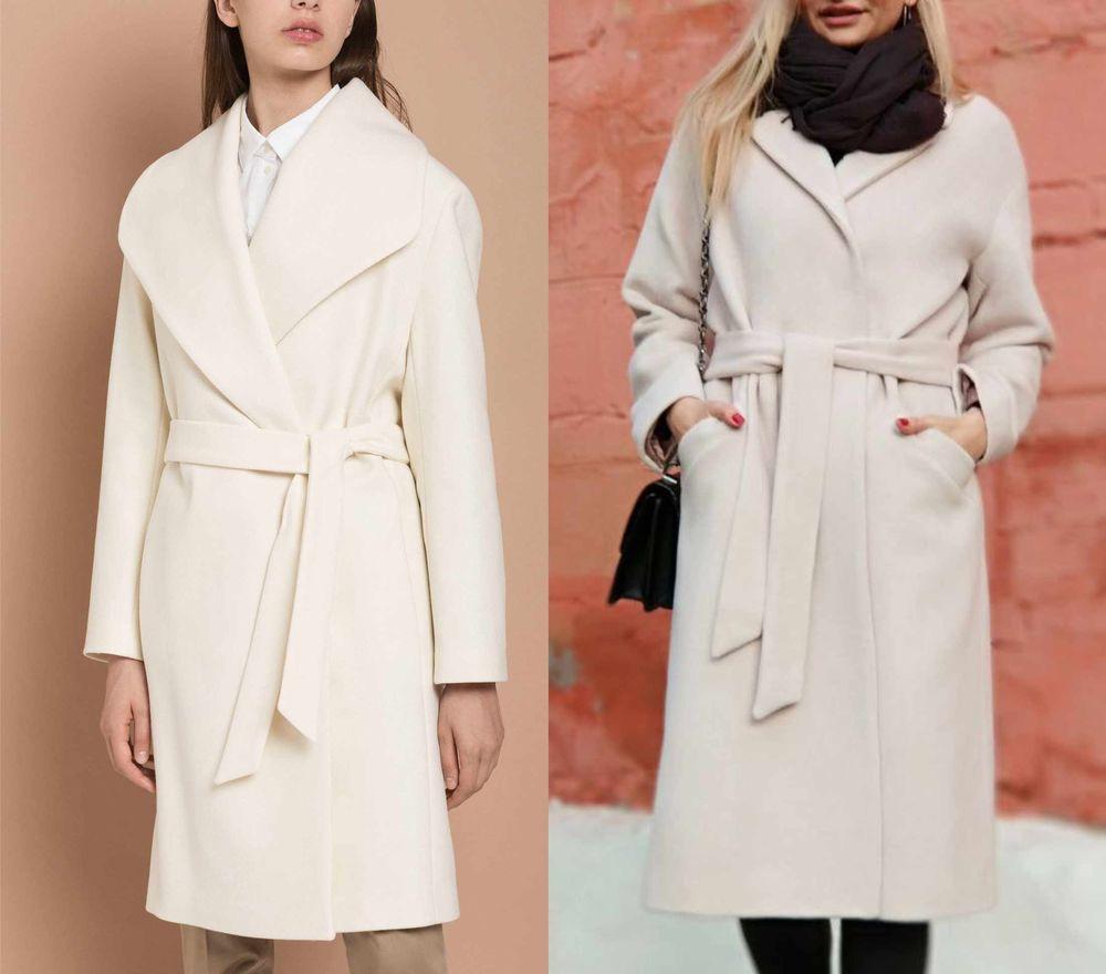 экрю, зима 2018, красивые пальто