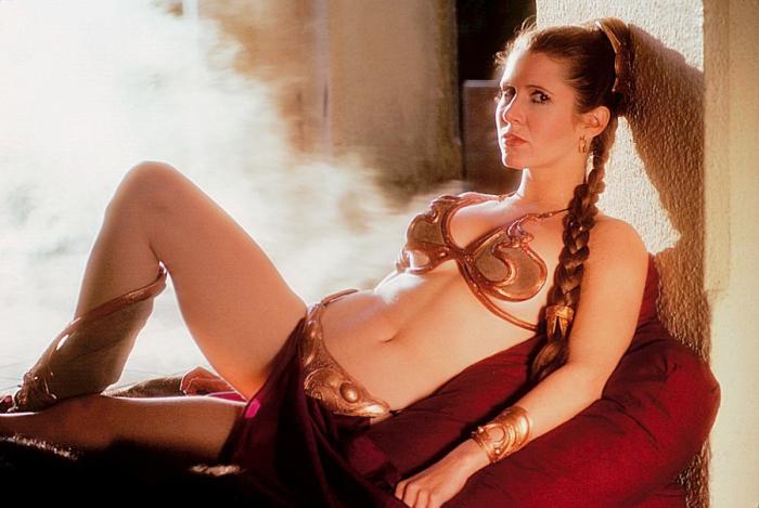 Легендарный наряд принцессы Леи.   Фото: theguardian.com.