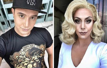Магия макияжа — парень превращает себя в знаменитых женщин Голливуда!