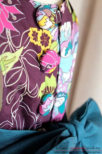 Пошив платья для дочки своими руками по инструкции с фото. Фото №26