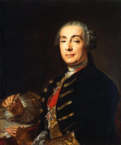 Граф Бартоломео Франческо Растрелли.