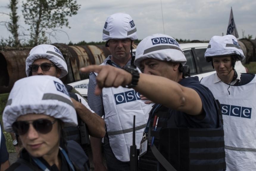 Дорога к Счастью: ВСУ заблокировали вход для ОБСЕ