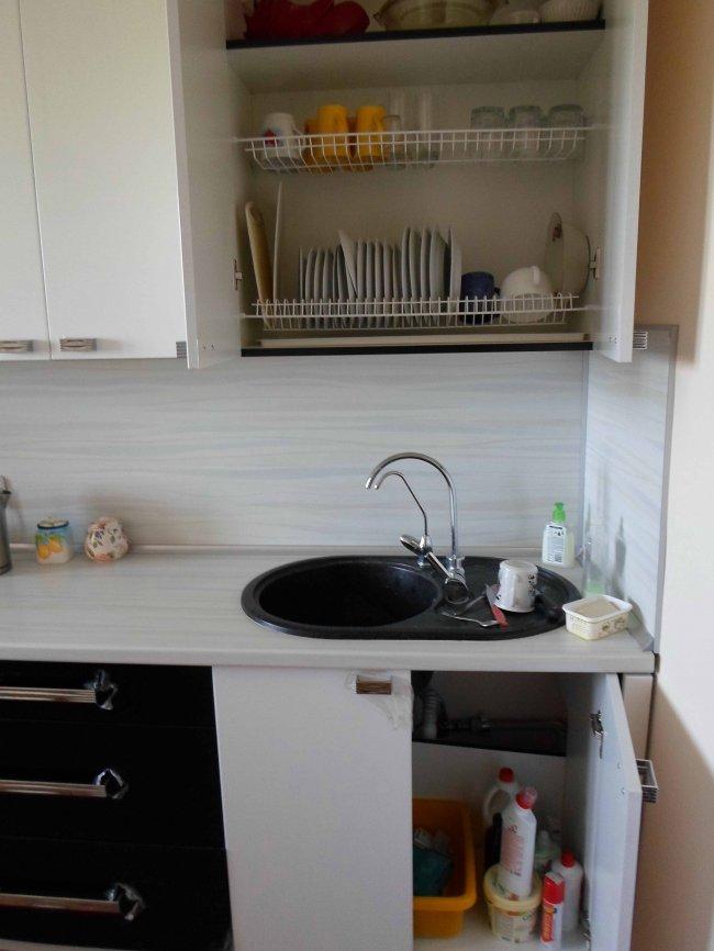 Дизайн прямой кухни 9 кв