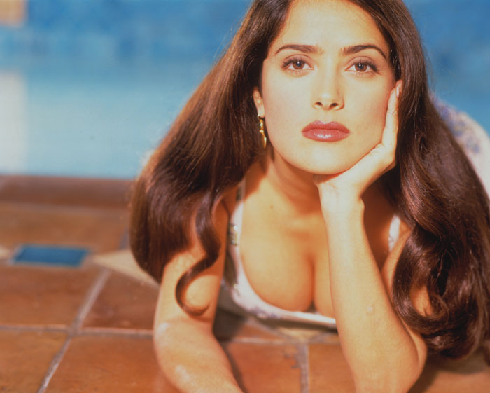 Сальма Хайек (Salma Hayek) в фотосессии для журнала People (1996)