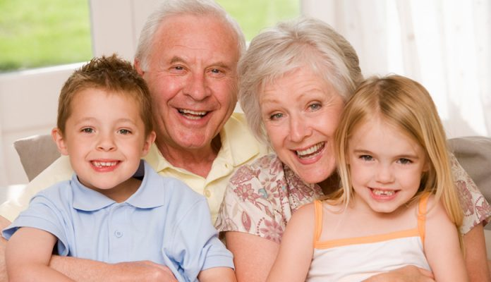 Бабушка с дедушкой – это леди и джентльмен