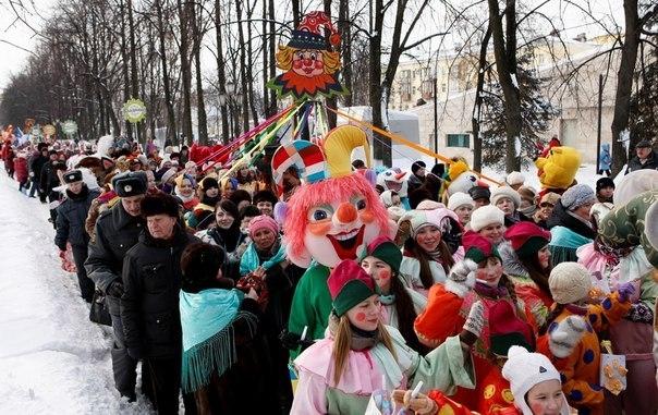 Масленица – самый яркий, веселый и зрелищный русский праздник
