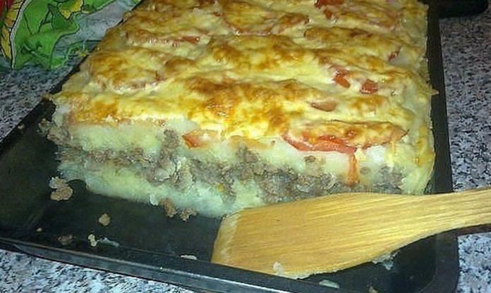 Пирог с луком и картошкой рецепт с