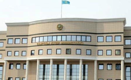 МИД Казахстана: переговоры поСирии пройдут вАстане зазакрытыми дверями