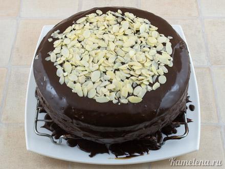 «Дьявольский» шоколадный торт — 14 шаг
