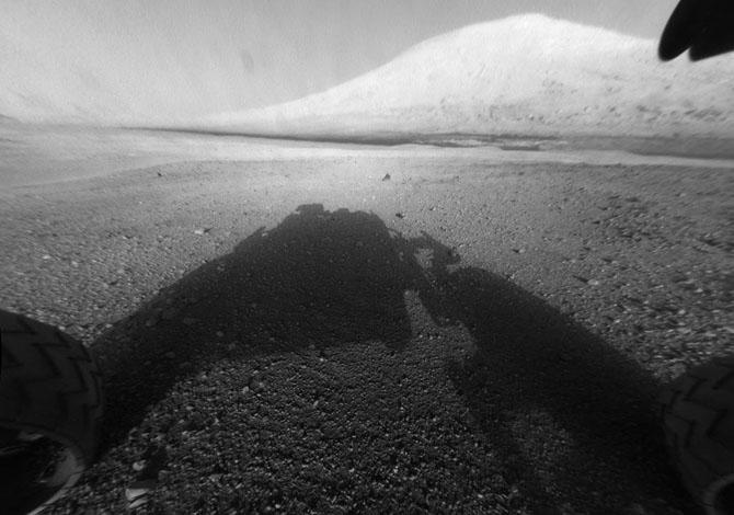Марсоход Curiosity – год на Марсе