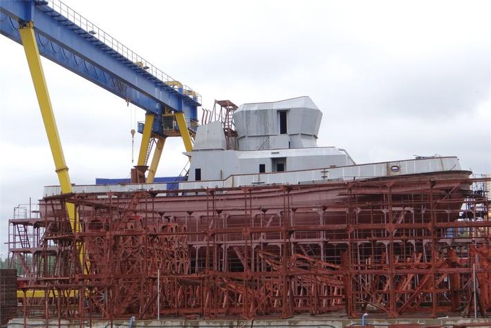 Строительство буксира проекта 02790 и рыболовного судна на ЛСЗ «Пелла»