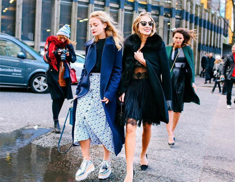 Модный тренд: юбка-трапеция