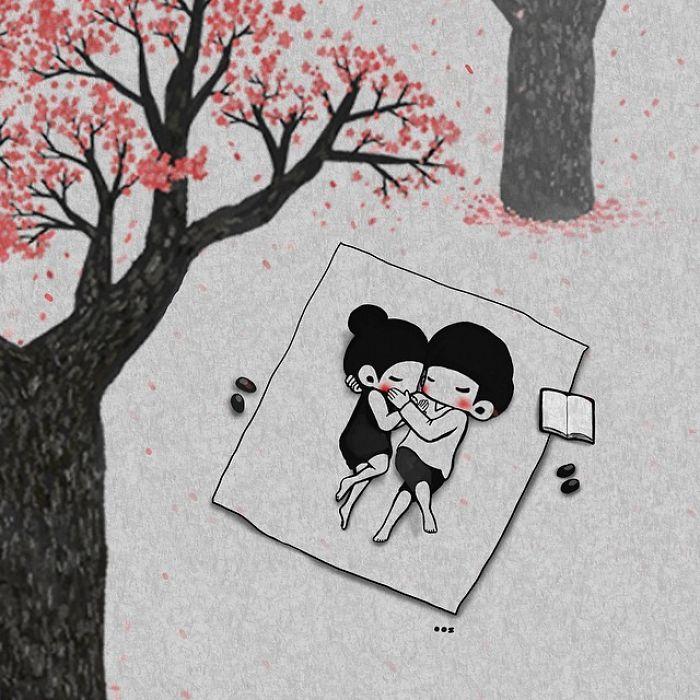 Корейский художник показывае…