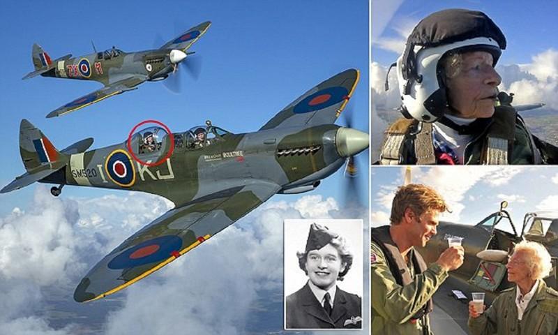 Британская военная летчица ошарашила всех в день своего 100-летнего юбилея