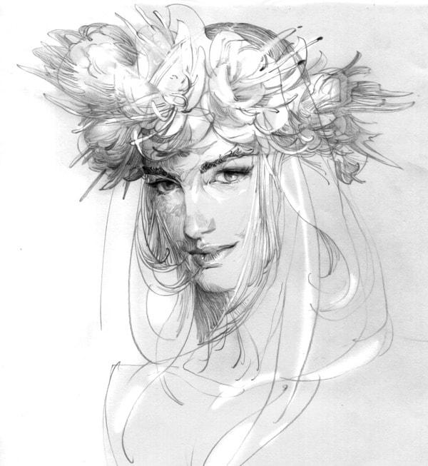 художник Zhang Weber графика – 05