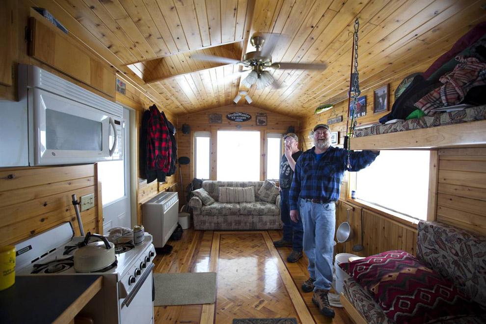 Дом для рыбалки