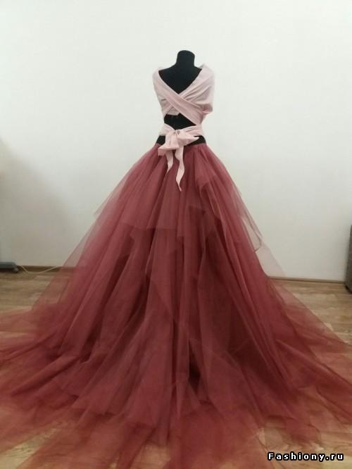 Платье для фотосессии своими руками