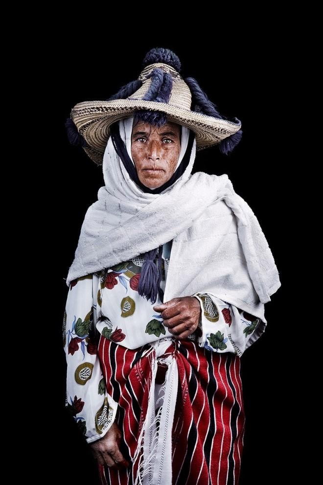 Колоритные портреты марокканцев фотографа Лейлы Алауи