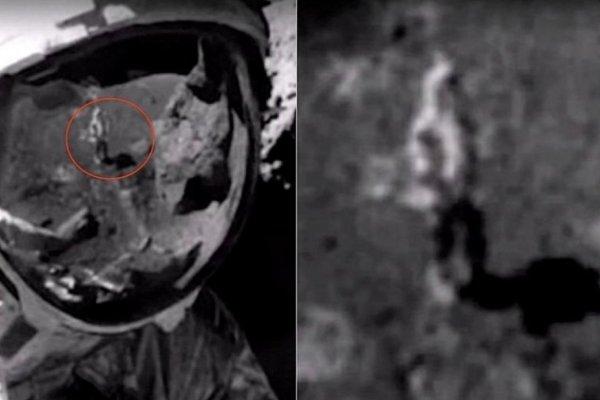 Человека на Луне без скафандра разглядели на снимке NASA 1972 г.