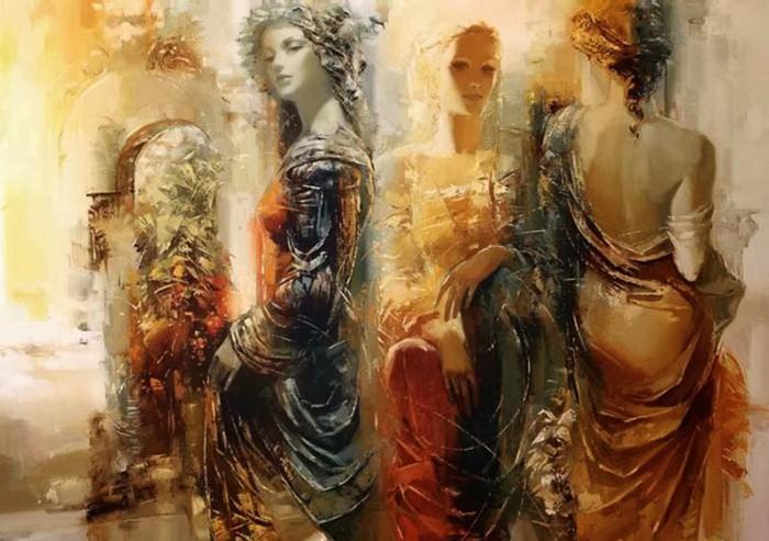 Её душа, как свет необычайный...  Творчество Романа Гарасюты