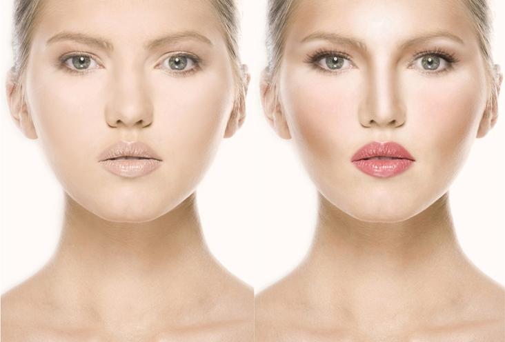 Как с помощью макияжа сделать лицо стройнее: 3 эффективных способа