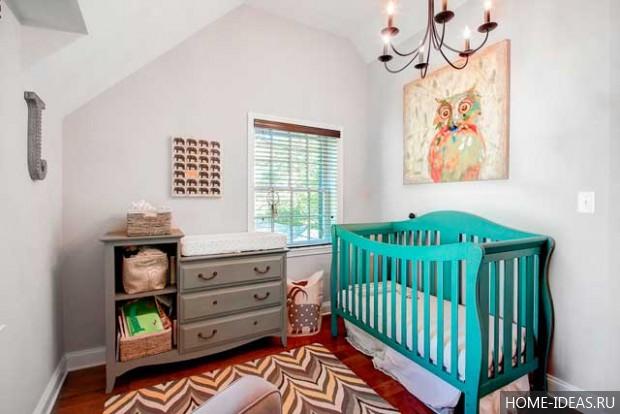 Комод с пеленальным столиком для новорожденных