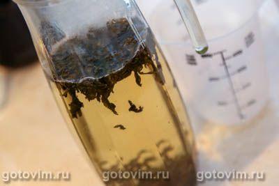 Лимонад из зеленого чая с мятой, Шаг 01