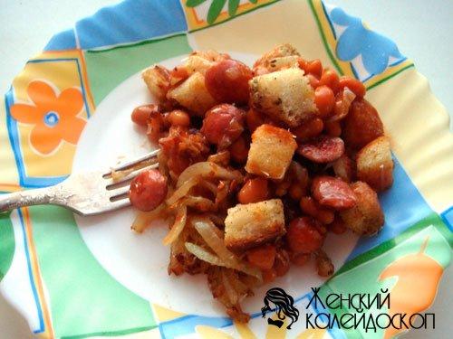 Салат из фасоли в томатном соусе рецепт с очень вкусный