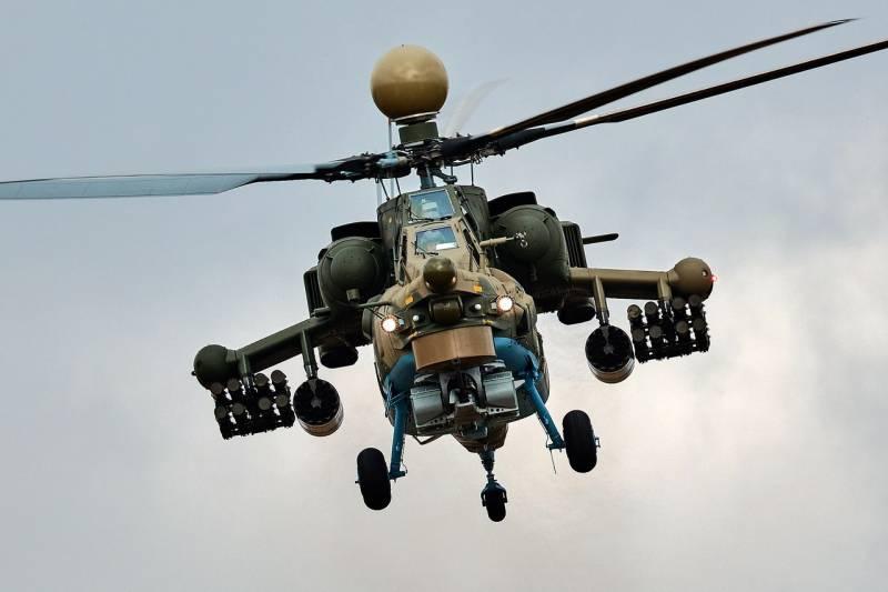 Первая партия серийных вертолетов Ми-28УБ готова к передаче Минобороны РФ