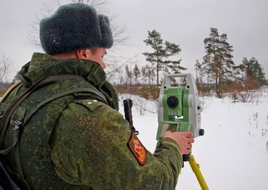 8 февраля - День военного топографа